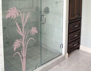Fensterfolie - Fenstertattoo No.359 Bambusfarn - Milchglasfolie