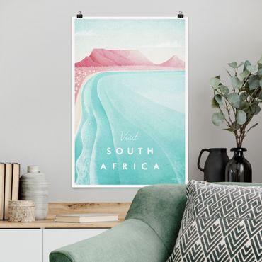Poster - Reiseposter - Südafrika - Hochformat 3:2