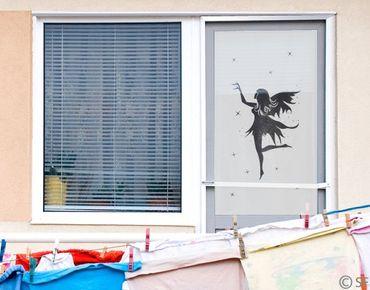 Fensterfolie - Sichtschutzfolie No.SF939 Sternenelfe - Milchglasfolie