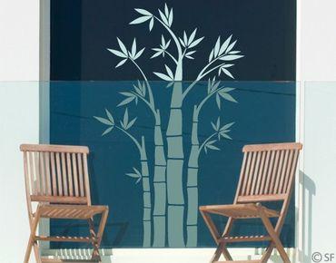 Fensterfolie - Fenstertattoo No.SF949 Bambus - Milchglasfolie
