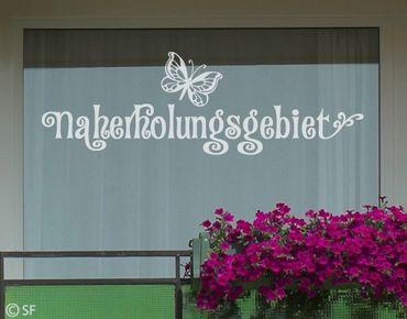 Fensterfolie - Fenstertattoo No.SF956 Naherholungsgebiet - Milchglasfolie