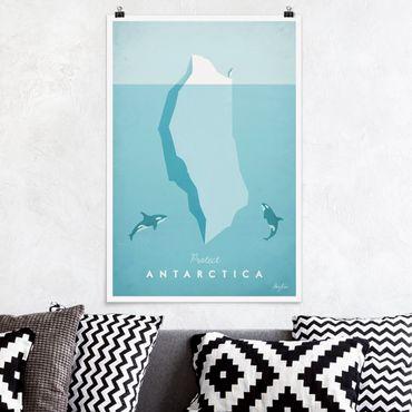 Poster - Reiseposter - Antarktis - Hochformat 3:2