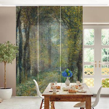 Schiebegardinen Set - Auguste Renoir - Die Allee - Flächenvorhänge