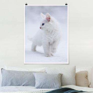 Poster - Weiß wie Schnee - Hochformat 3:4