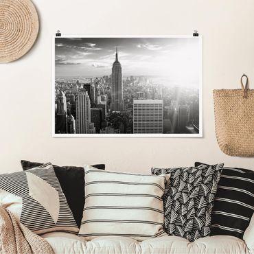 Poster - Manhattan Skyline - Querformat 2:3