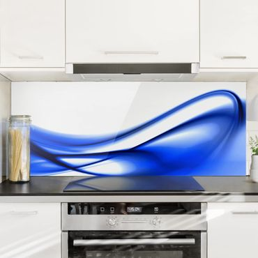 Spritzschutz Glas - Blue Touch - Panorama - 5:2