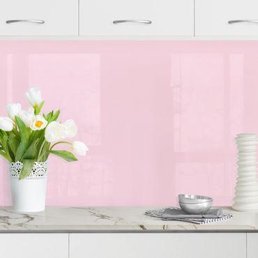 Küchenrückwand - Rosé