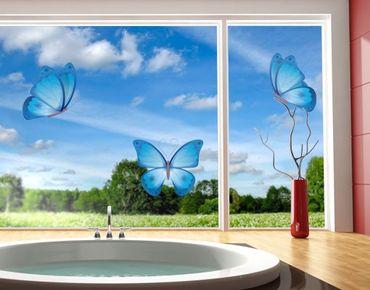 Fensterfolie - Fenstersticker No.EG25 Schmetterlinge - Fensterbilder