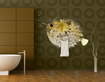 Wandtattoo Fische No.602 Kugelfisch