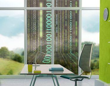 Fensterfolie - Sichtschutz Fenster Dematrix - Fensterbilder
