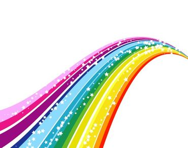 Fensterfolie - Fenstersticker No.620 Rainbow - Fensterbilder