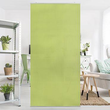 Raumteiler - Frühlingsgrün 250x120cm