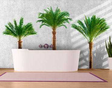 Wandtattoo Baum No.486 Palmen Set