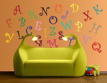 Wandtattoo Sprüche No.KS2 Magical Alphabet
