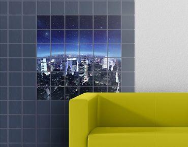 Fliesenbild - Illuminated New York