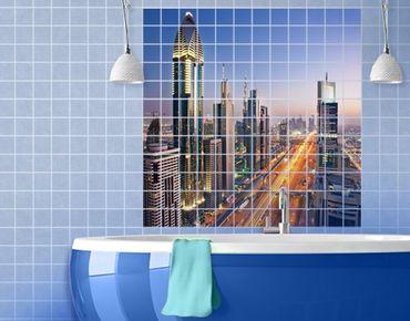 Fliesenbild - Dubai