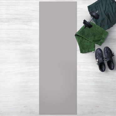 Vinyl-Teppich - Achatgrau - Panorama Hoch 1:3