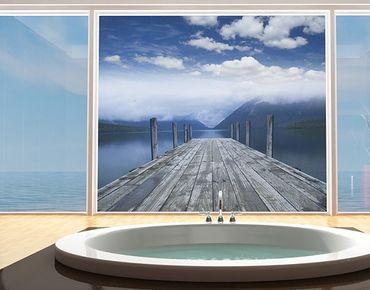 Fensterfolie - Sichtschutz Fenster Nelson Lakes National Park - Fensterbilder