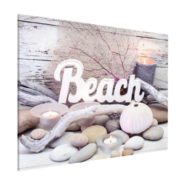 Magnettafel - Wellness Beach Dekoration - Memoboard Querformat 3:4