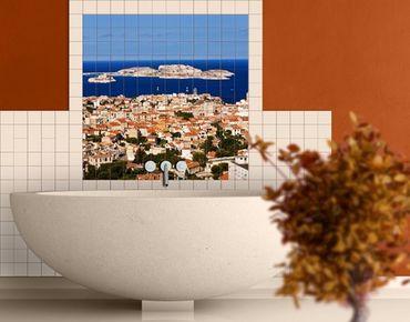 Fliesenbild - Marseille
