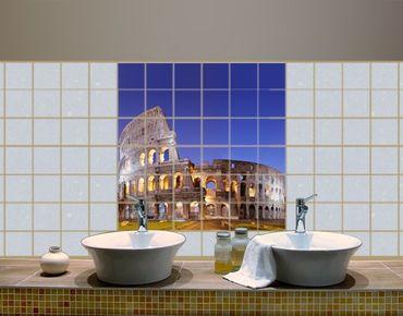 Fliesenbild - Erleuchtetes Kolosseum