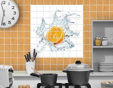 Fliesenbild - Frische Orange