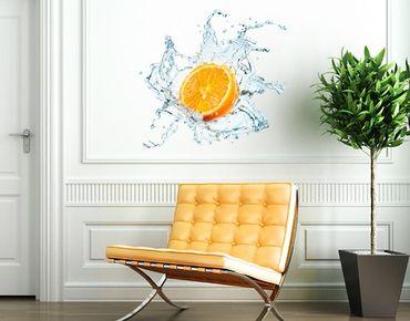 Wandtattoo No.434 Frische Orange