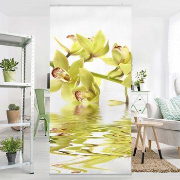 Raumteiler - Elegant Orchid Waters 250x120cm
