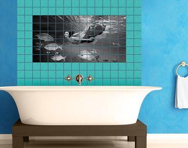 Fliesenbild - Underwater Beauty II