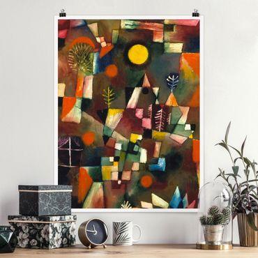 Poster - Paul Klee - Der Vollmond - Hochformat 3:4
