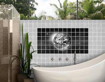 Fliesenbild - Weltall II