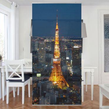 Raumteiler - Tokyo Tower 250x120cm