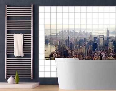 Fliesenbild - Der Morgen in New York