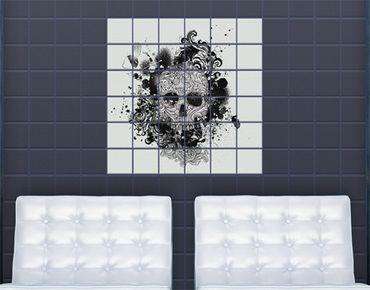 Fliesenbild - Skull