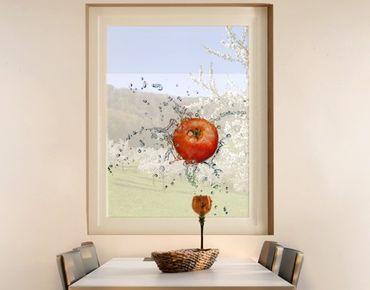 Fensterfolie - Sichtschutz Fenster Frische Tomate - Fensterbilder
