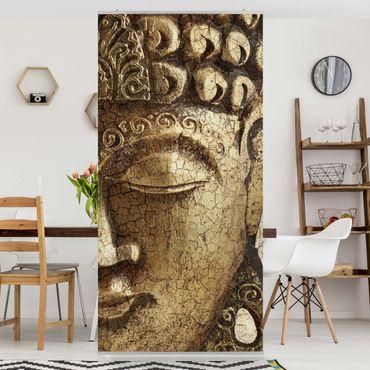 Raumteiler - Vintage Buddha 250x120cm