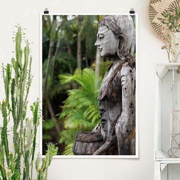 Poster - Indonesia Buddha - Hochformat 3:2