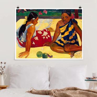 Poster - Paul Gauguin - Frauen von Tahiti - Querformat 3:4