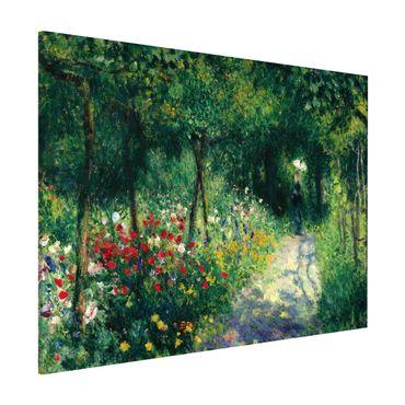 Magnettafel - Auguste Renoir - Frauen im Garten - Memoboard Querformat 3:4