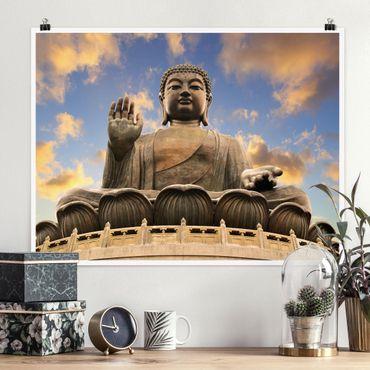 Poster - Großer Buddha - Querformat 3:4