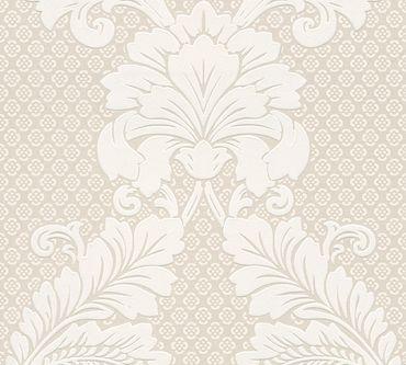 Architects Paper Mustertapete Luxury wallpaper in Creme, Metallic