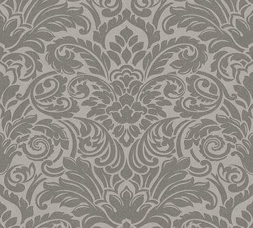 Architects Paper Mustertapete Luxury wallpaper in Grau, Metallic