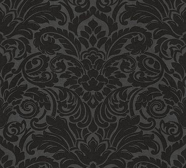 Architects Paper Mustertapete Luxury wallpaper in Schwarz, Metallic