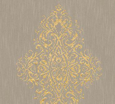Architects Paper Mustertapete Luxury wallpaper in Beige, Metallic