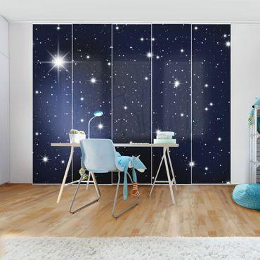 Schiebegardinen Set - Stars - Flächenvorhänge