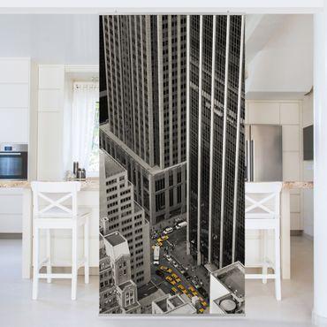 Raumteiler - NYC 5pm 250x120cm