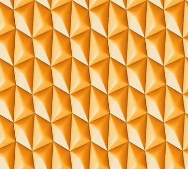 Livingwalls Mustertapete Harmony in Motion by Mac Stopa in Orange