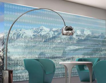 Fensterfolie - XXL Fensterbild No.RS7 Skandinavien - Fenster Sichtschutz