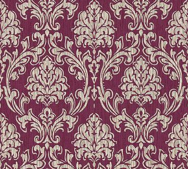 Esprit Mustertapete Esprit 13 Eccentric Luxury in Creme, Metallic, Rot