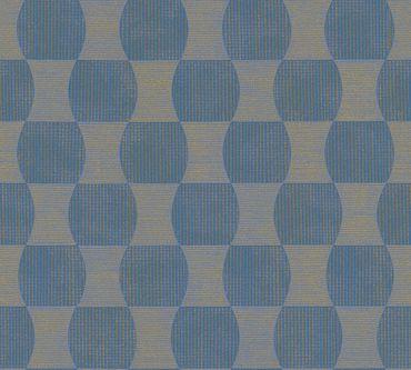 A.S. Création Strukturtapete livingwalls in Blau, Metallic
